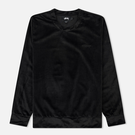 Женская толстовка Stussy Torch Crew Neck Faded Black