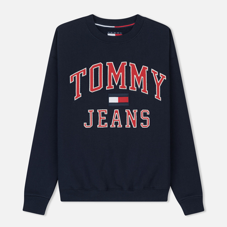Женская толстовка Tommy Jeans 90's CN Peacoat