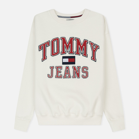 Женская толстовка Tommy Jeans 90's CN White
