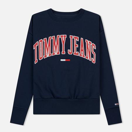 Женская толстовка Tommy Jeans Clean Collegiate Crew Black Iris