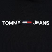 Женская толстовка Tommy Jeans Clean Linear Logo Hoodie Black фото- 2