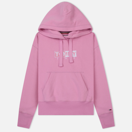 Женская толстовка Tommy Jeans Clean Logo Hoodie Lilac Chiffon