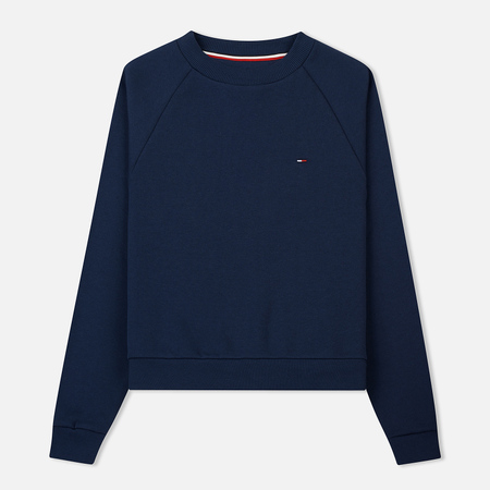 Женская толстовка Tommy Jeans Clean Raglan Black Iris