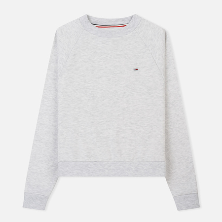 Женская толстовка Tommy Jeans Clean Raglan Pale Grey Heather