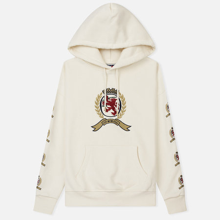 Женская толстовка Tommy Jeans Crest Hoodie Cloud Dancer