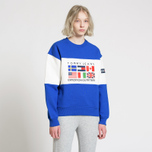 Женская толстовка Tommy Jeans Crew Neck Expedition 6.0 Surf The Web фото- 4