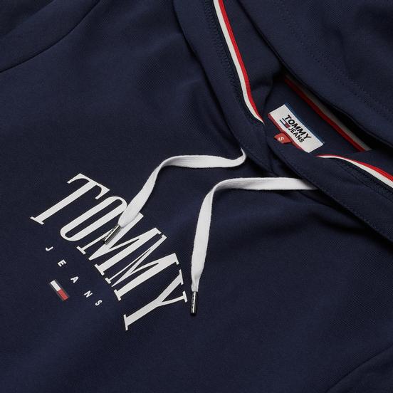 Женская толстовка Tommy Jeans Essential Logo Hoodie Twilight Navy