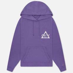 Женская толстовка Tommy Jeans Garment Dyed Logo Hoodie Hyacinth