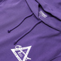 Женская толстовка Tommy Jeans Garment Dyed Logo Hoodie Hyacinth фото - 1