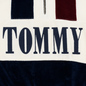 Женская толстовка Tommy Jeans Heritage Mock Neck Velour Navy Blazzer/Multi фото - 2