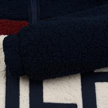 Женская толстовка Tommy Jeans Heritage Sherpa Fleece Navy Blazer/Multi фото- 4