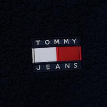 Женская толстовка Tommy Jeans Heritage Sherpa Fleece Navy Blazer/Multi фото- 5
