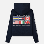 Женская толстовка Tommy Jeans Hoodie Expedition 6.0 Dark Sapphire фото- 5