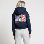 Женская толстовка Tommy Jeans Hoodie Expedition 6.0 Dark Sapphire фото- 7