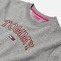 Женская толстовка Tommy Jeans Neon Outline Crew Light Grey Heather фото - 1