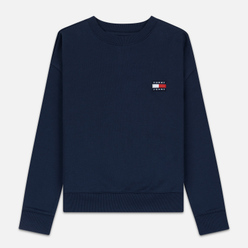 Женская толстовка Tommy Jeans Tommy Badge Crew Black Iris