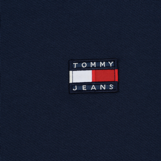 Женская толстовка Tommy Jeans Tommy Badge Crew Black Iris