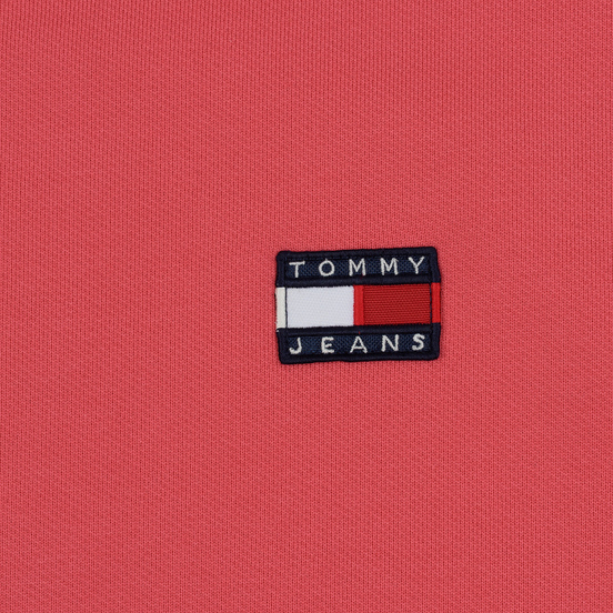 Женская толстовка Tommy Jeans Tommy Badge Crew Claret Red