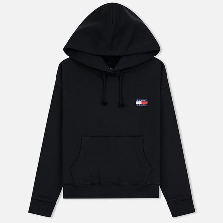 Женская толстовка Tommy Jeans Tommy Badge Hoodie Black