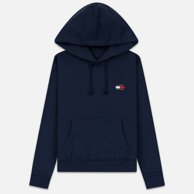 Женская толстовка Tommy Jeans Tommy Badge Hoodie Black Iris