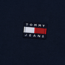 Женская толстовка Tommy Jeans Tommy Badge Hoodie Black Iris фото- 2