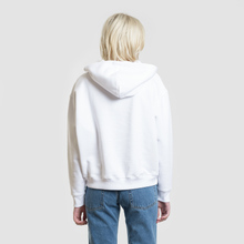 Женская толстовка Tommy Jeans Tommy Badge Hoodie Classic White фото- 3