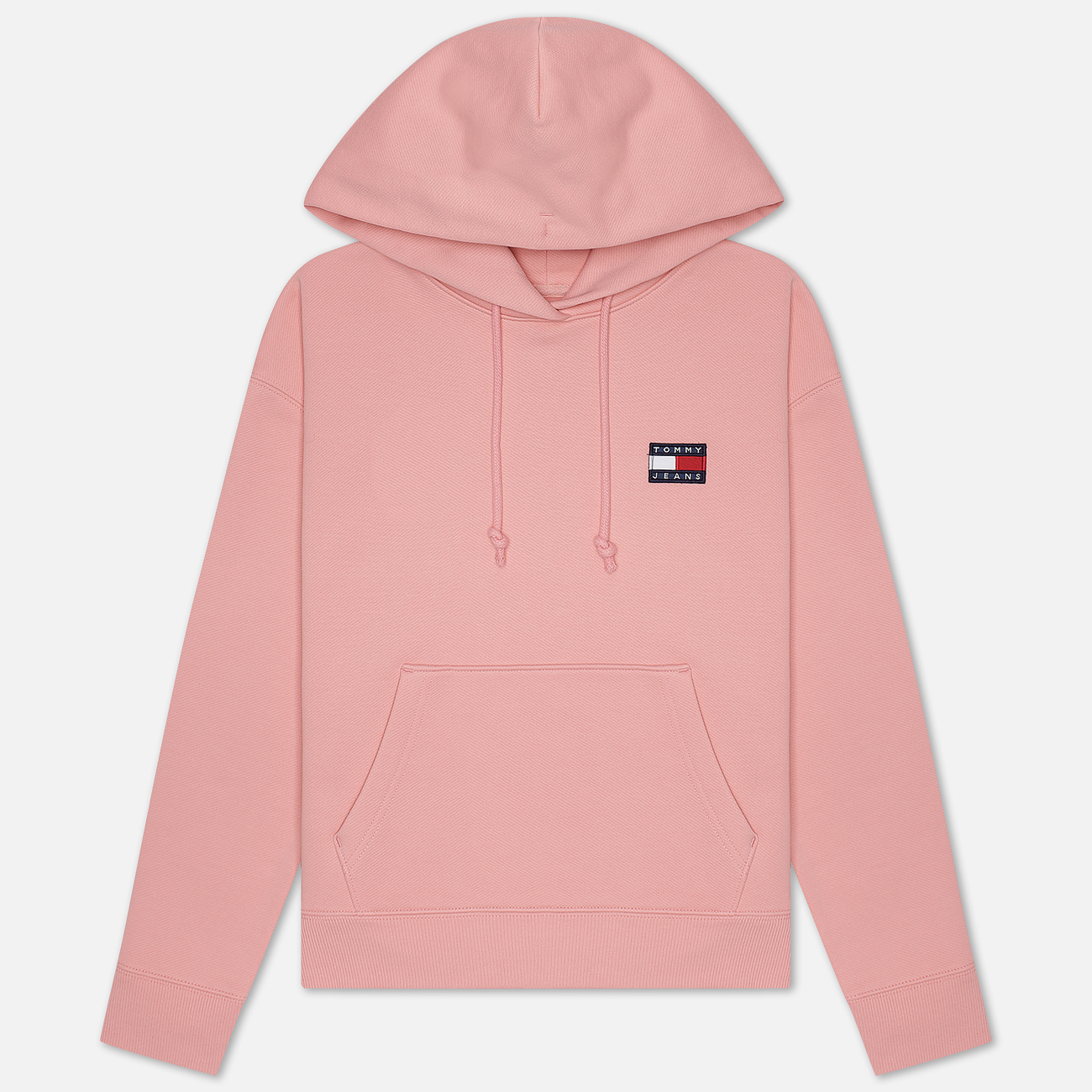Женская толстовка Tommy Jeans Tommy Badge Hoodie Pink Icing