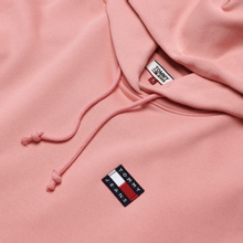 Женская толстовка Tommy Jeans Tommy Badge Hoodie Pink Icing фото- 1