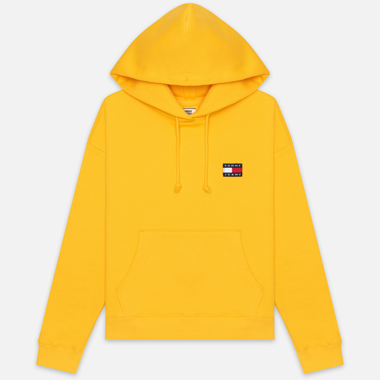 Женская толстовка Tommy Jeans Tommy Badge Hoodie Spectra Yellow