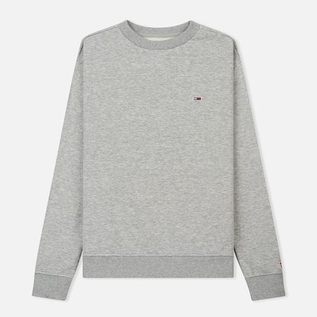 Женская толстовка Tommy Jeans Tommy Classic Crew Light Grey Heather