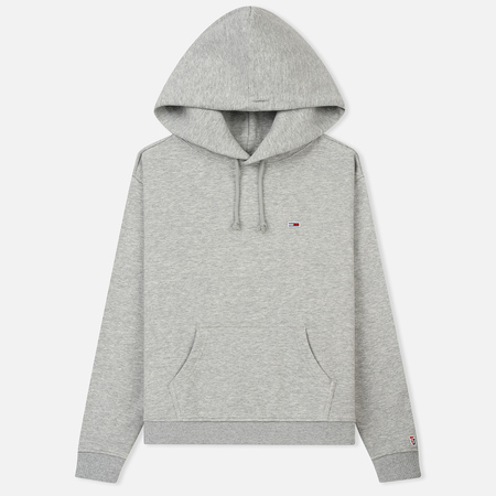 Женская толстовка Tommy Jeans Tommy Classic Hoodie Light Grey Heather