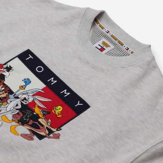 Женская толстовка Tommy Jeans x Looney Tunes Crew Neck Pale Grey Heather