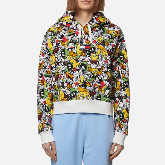 Женская толстовка Tommy Jeans x Looney Tunes Hoodie All Over Print