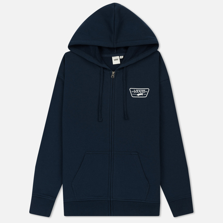 Женская толстовка Vans Full Patch Zip Hoodie Dress Blues
