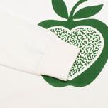 Женская толстовка YMC Apple White/Green фото- 3