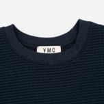 YMC Zip Side Women's Sweatshirt Navy photo- 1