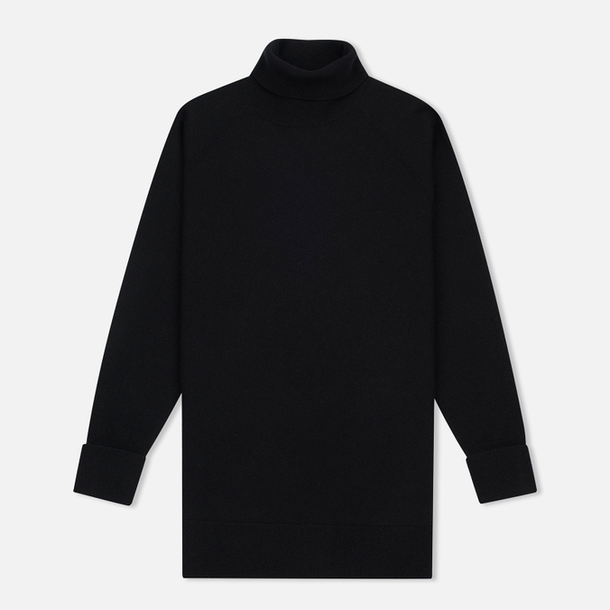 Norse Projects Fylla Boiled Women's Turtleneck Black