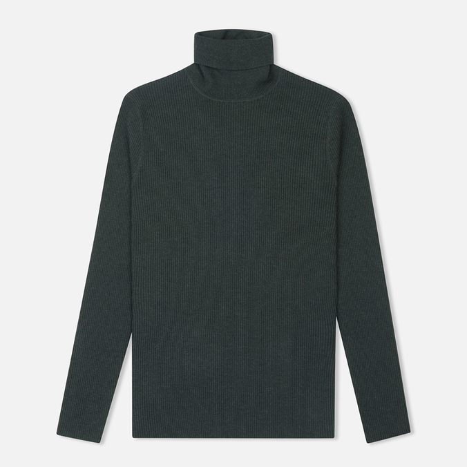 Женская водолазка Norse Projects Saga Rib Dark Green Melange