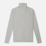 Женская водолазка Norse Projects Saga Rib Light Grey Melange фото- 0