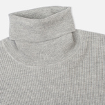 Женская водолазка Norse Projects Saga Rib Light Grey Melange фото- 1