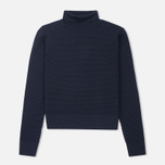 Женская водолазка Norse Projects Beate Bubble Stitch Dark Navy фото- 0