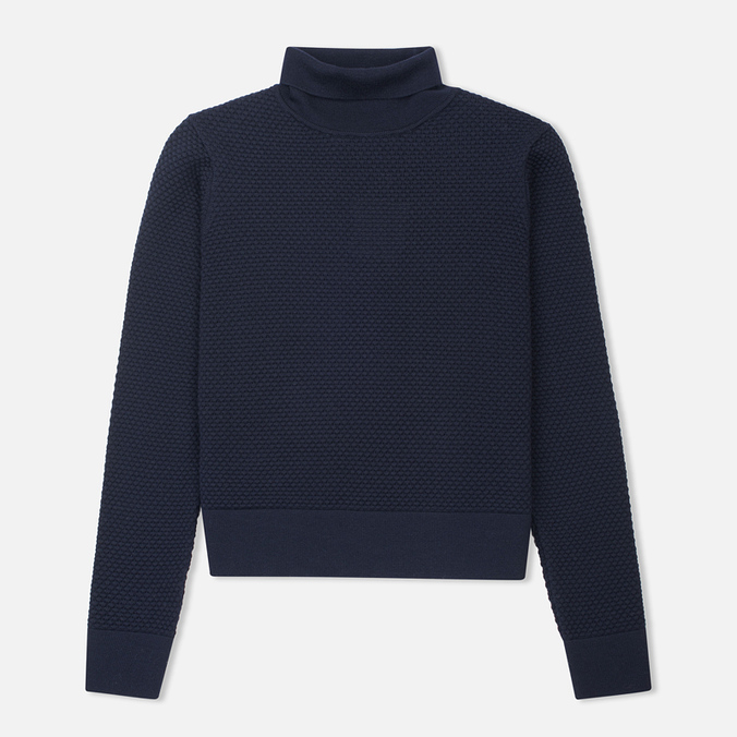 Женская водолазка Norse Projects Beate Bubble Stitch Dark Navy