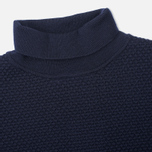 Женская водолазка Norse Projects Beate Bubble Stitch Dark Navy фото- 1