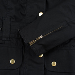 Barbour International Wax Women's Waxed Jacket Black photo- 6