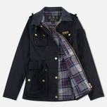 Barbour International Wax Women's Waxed Jacket Black photo- 1