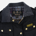Barbour International Wax Women's Waxed Jacket Black photo- 2