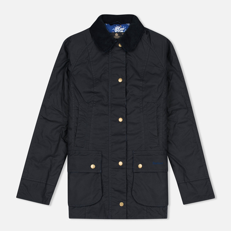 Barbour Lifestyle Catherine Wax Women's Waxed Jacket Navy