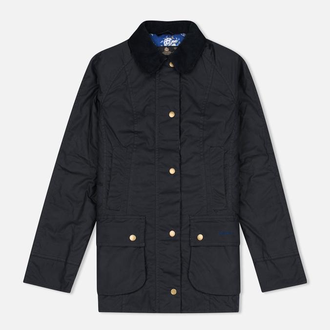 Женская вощеная куртка Barbour Lifestyle Catherine Wax Navy