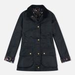 Женская вощеная куртка Barbour Monteviot Wax Navy фото- 0