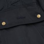 Женская вощеная куртка Barbour Monteviot Wax Navy фото- 5